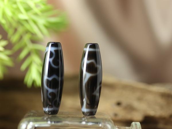 画像1: 水中蓮花 至純天珠 38×12mm (1)