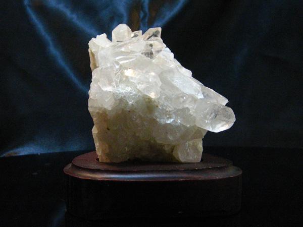 画像1: 【一点物】 水晶クラスター×ブラジル産×ミネラル【送料無料】 (1)