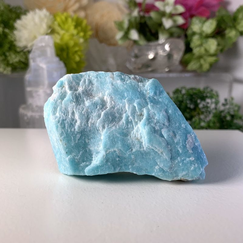 画像1: アマゾナイト 幸運を呼ぶ石・平穏をもたらす・精神と肉体の活性化・自立心 天然石 (1)