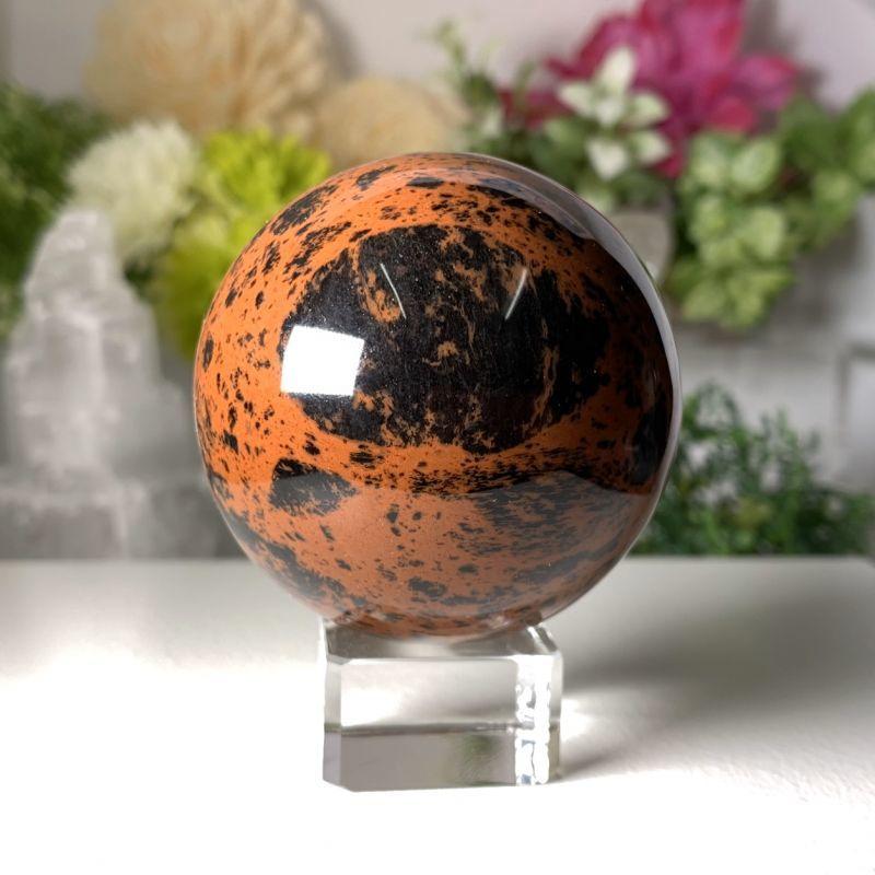画像1: マホガニー・オブシディアン ネガティブなエネルギー防御・目標達成・決断力 天然石 (1)