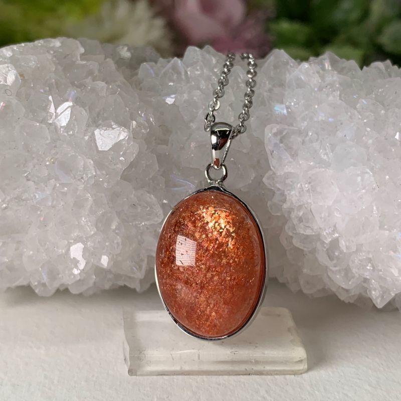 画像1: サンストーン 創造性・ストレス緩和・自信をもたらす・癒し・心にゆとり 天然石 (1)
