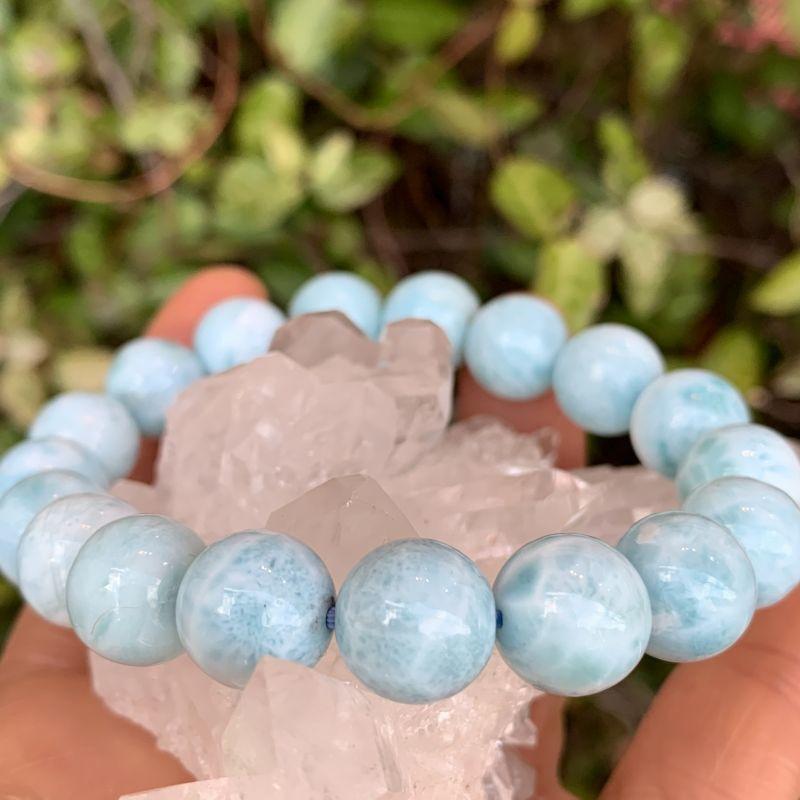 画像1: ラリマー・マリンブルー 愛と平和の石・調和・ネガティブな意識を取り除く 天然石 (1)
