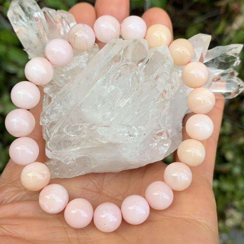 画像1: ピンク・オパール 憂鬱を追い払う・創造性を高める・喜びと幸運を呼び込む 天然石 (1)