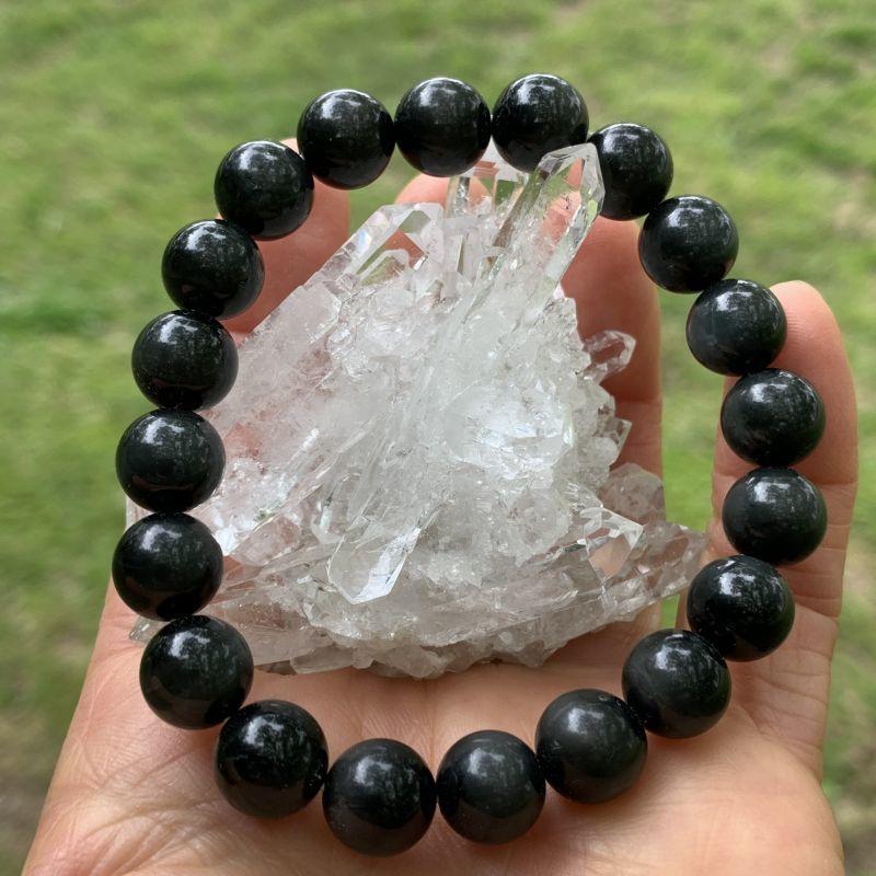 画像1: ブラック・イーグルアイ 災いを遠ざけ・繁栄をもたらす・魔除け・厄除け 天然石  (1)