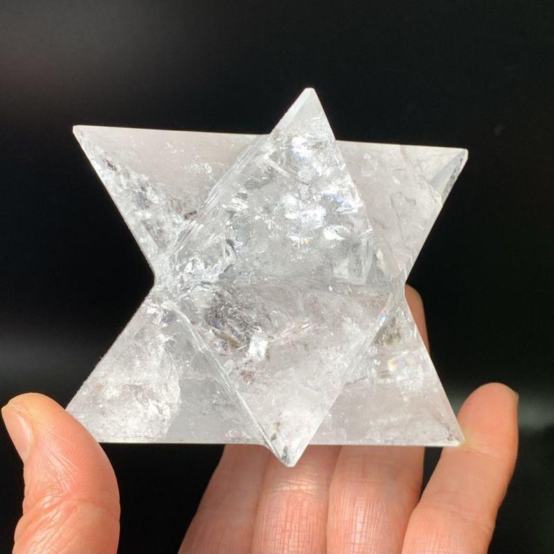 画像1: 希少!天然水晶・マカバスター 虹入り ブラジル産 天然石・高品質・一点物 (1)