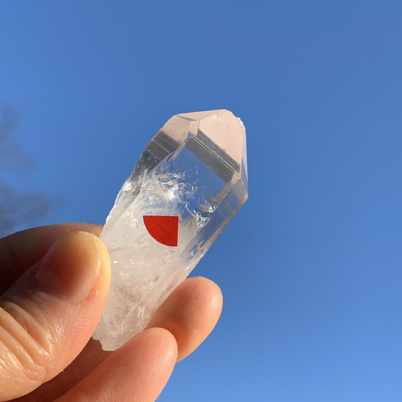 画像1: 激レア!!ライトニングクォーツ(雷水晶) ブラジル産 天然石・高品質・一点物 (1)